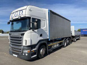 SCANIA R440 EU5 6x2 PALFINGER BDF RETARDER kamion s ceradom