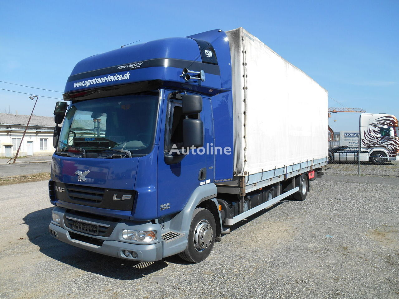 DAF LF 45 220 kamion s ceradom