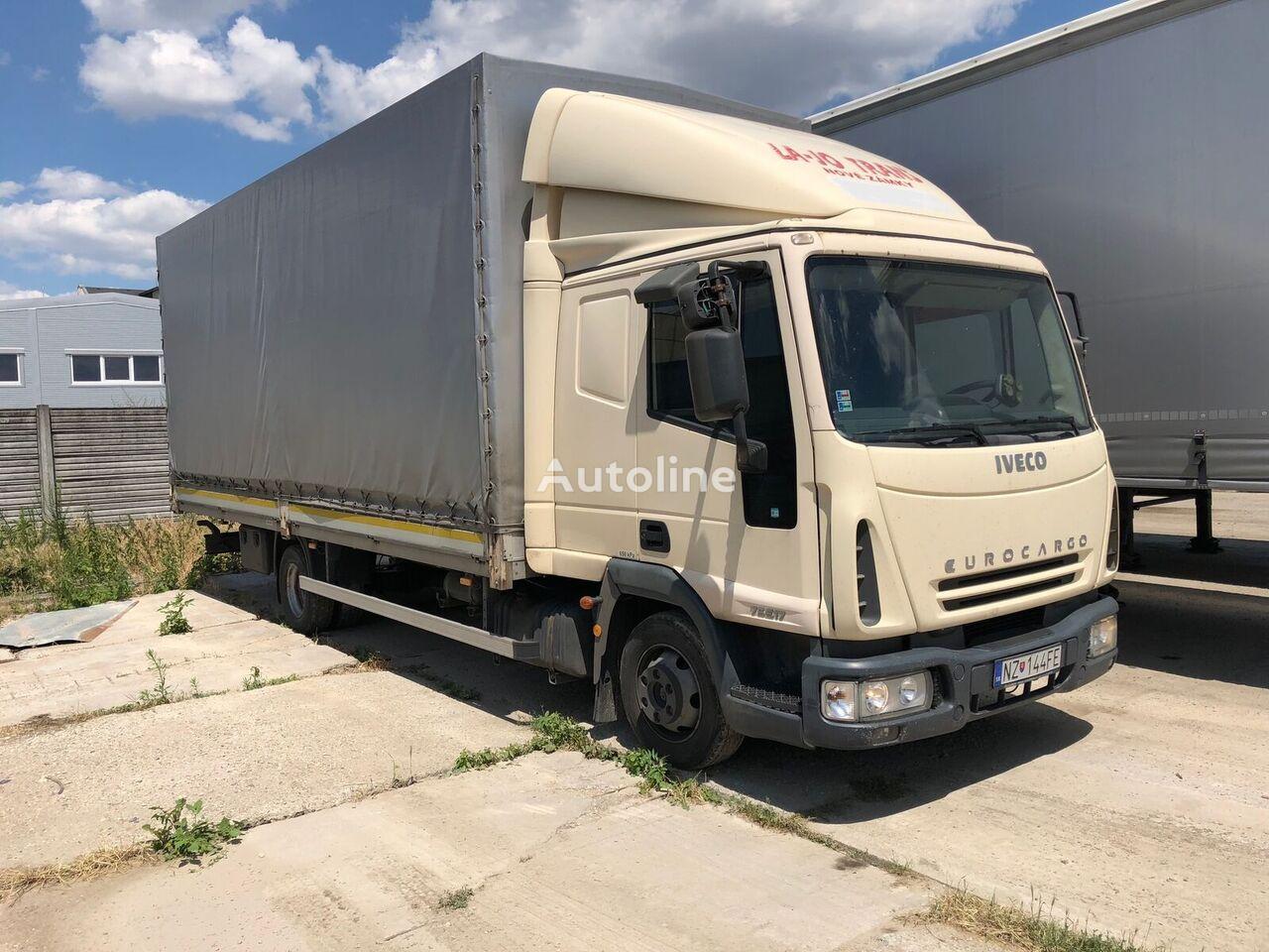 IVECO 75 E 17  kamion s ceradom