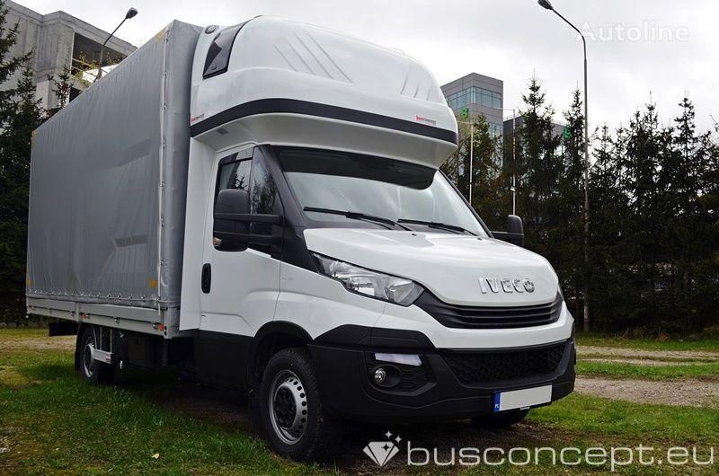 novi IVECO Daily 10EP 35S18 TOWBAR, TACHO kamion s ceradom