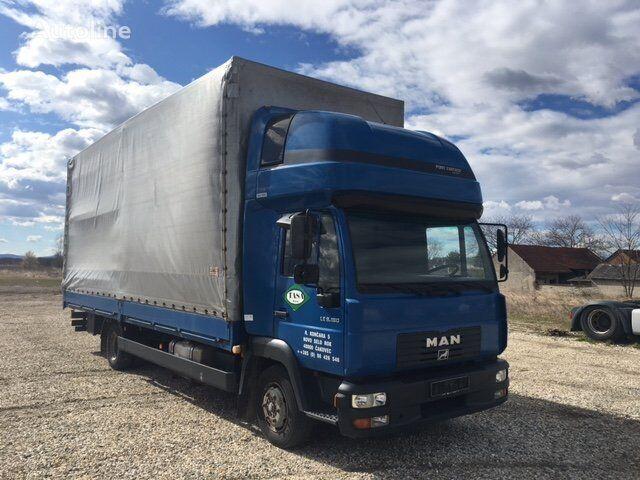 MAN 8.180 BL Top sleeper  kamion s ceradom