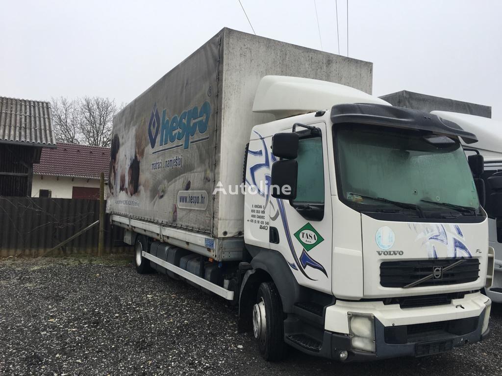 VOLVO FL 240, klima, manual transmission kamion s ceradom