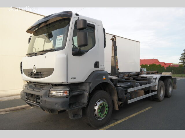 RENAULT KERAX 410.26 PR 6X4 EURO 4 hákový nosič kontejnerů kamion s kukom