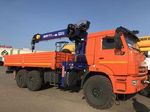 novi KAMAZ 43118 c тросовым КМУ DY (DongYang) SS1956 ACE kamion s ravnom platformom