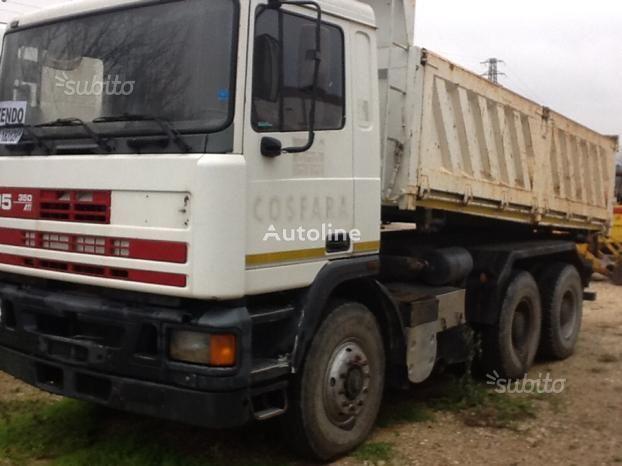 DAF Ati 350 Ribatabile kamion s ravnom platformom