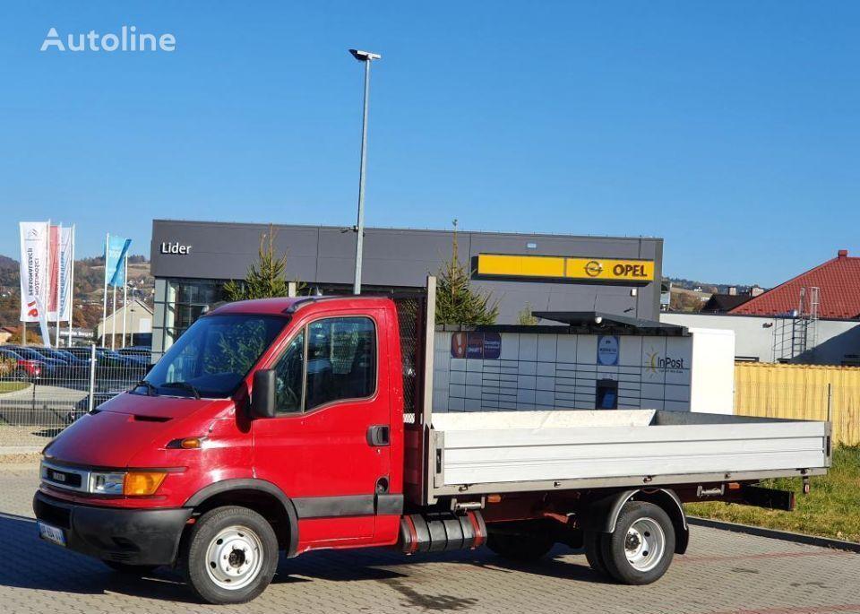IVECO Daily 35c-11 Skrzynia 4.40 M Stan BDB Nowe Opony ! kamion s ravnom platformom