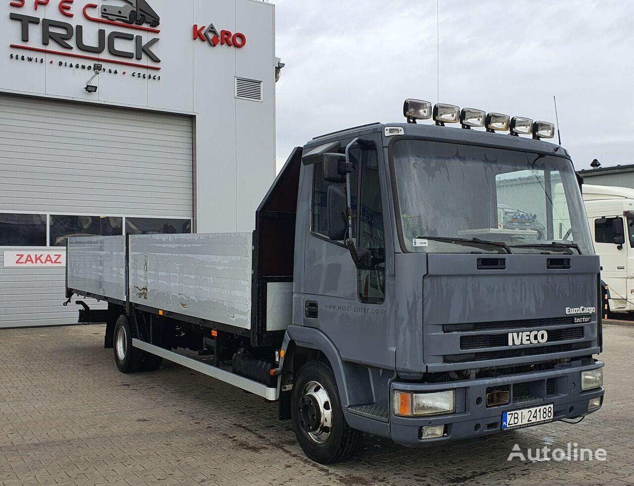 IVECO EuroCargo ML 80EL17, Manual, Full Steel  kamion s ravnom platformom