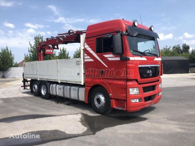 MAN TGX 26440 EU5 6X2 BOGI DARU 20m/300kg!! kamion s ravnom platformom