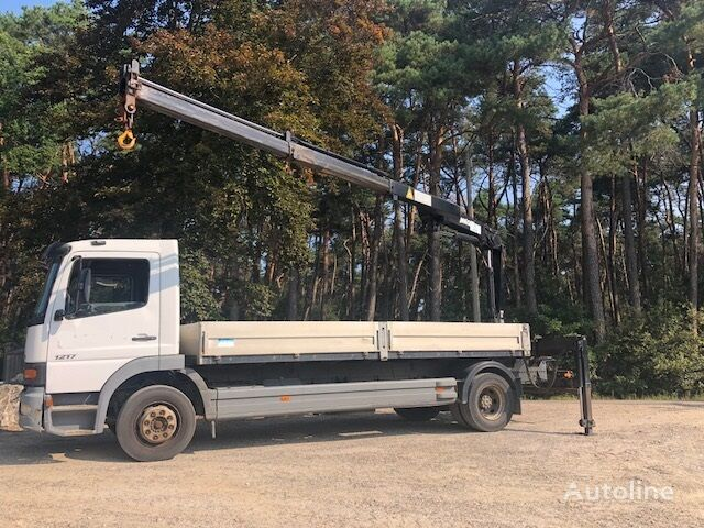 MERCEDES-BENZ Atego 1217 kamion s ravnom platformom