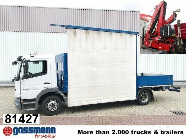 MERCEDES-BENZ Atego 1224 L  kamion s ravnom platformom