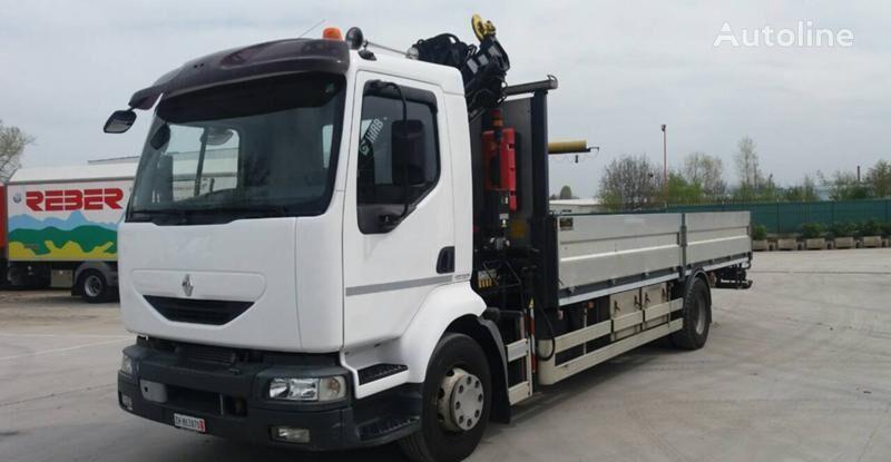 RENAULT Midlum 270 kamion s ravnom platformom