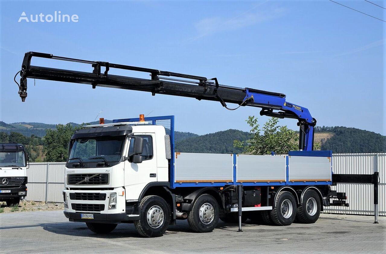 VOLVO FM 400  kamion s ravnom platformom