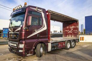 MAN TGX 26.480 XXL 6X2-4 ( gestuurd/Dir./steering/gelenkt) kamion sa kliznom ceradom