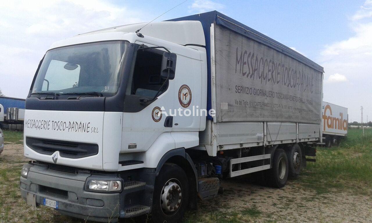RENAULT PREMIUM 420 DCI kamion sa kliznom ceradom