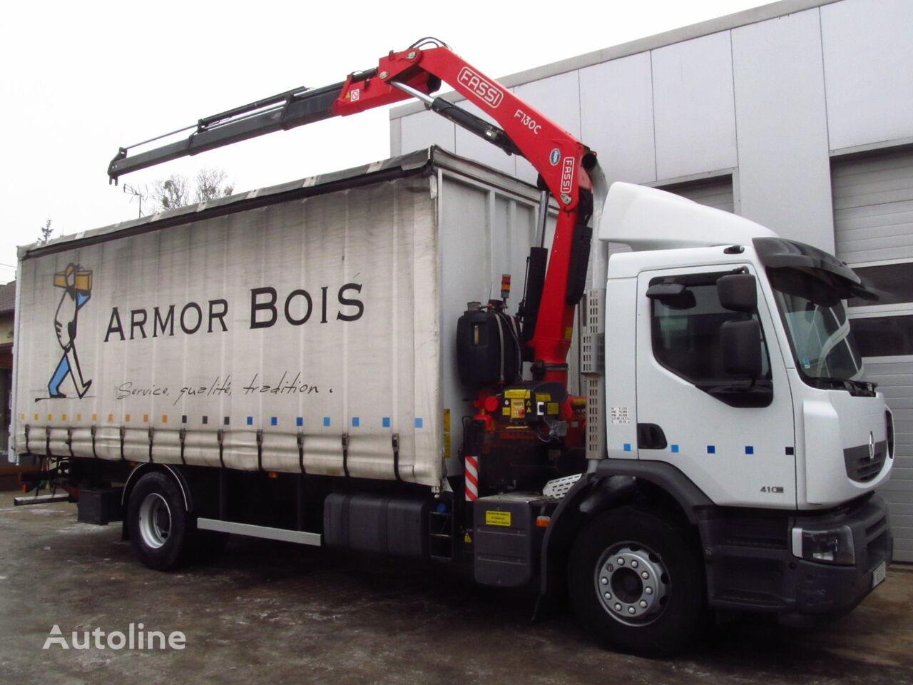 RENAULT PREMIUM LANDER 410DXI FASSI F130 NEW kamion sa kliznom ceradom