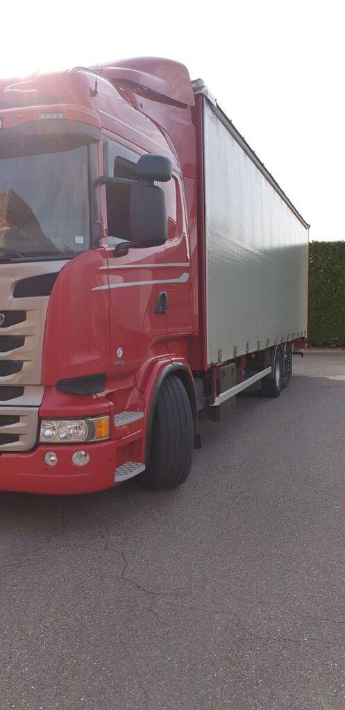 SCANIA PORTEUR kamion sa kliznom ceradom