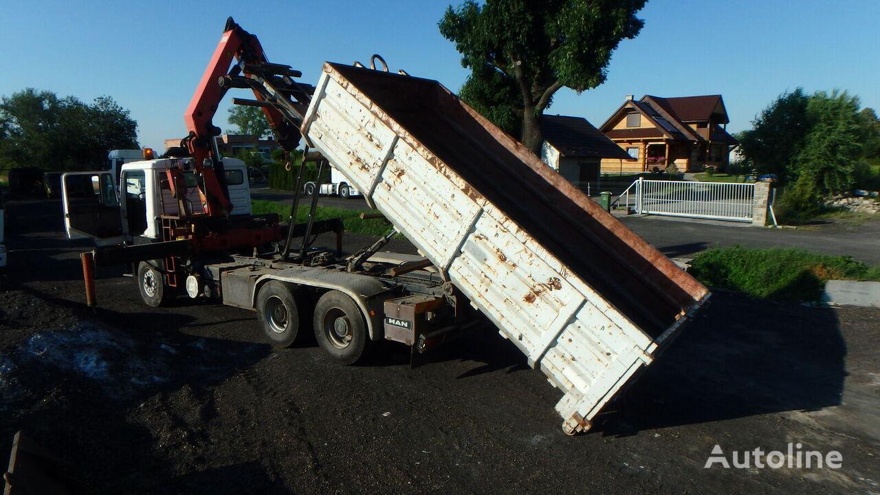 MAN 33-342  kamion sa kukom za podizanje tereta