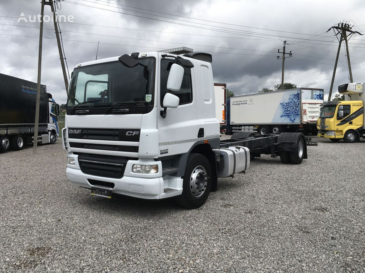 DAF CF 65.220 kamion šasija
