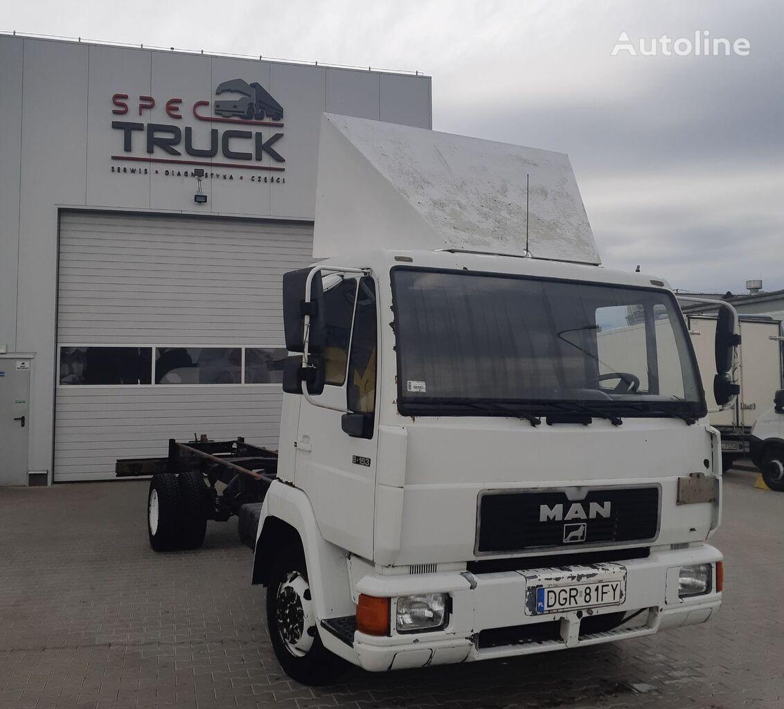 MAN L-2000, 8.153, full Stell, 7 meters  kamion-šasija