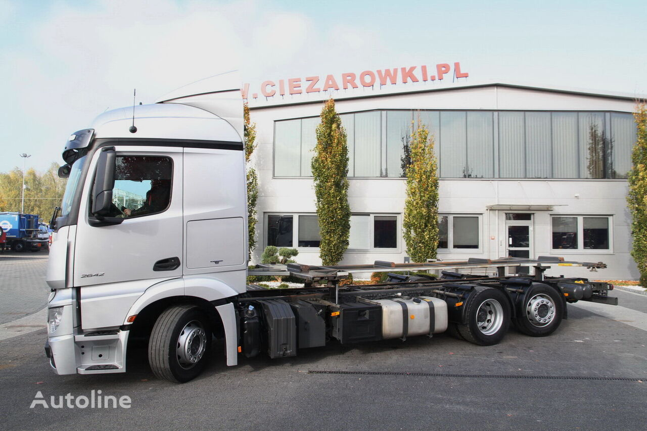 MERCEDES-BENZ ACTROS 2642 MP4 E6 CHASSIS LIFTING FRAME FOR BDF LAST STEERING A kamion-šasija
