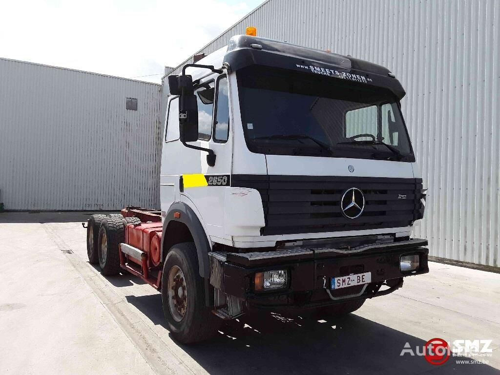 MERCEDES-BENZ SK 2650 jonsered2190+trailer kamion šasija