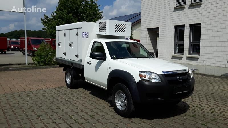 MAZDA B 50 4WD ColdCar Eis/Ice -33°C 2+2 Tuev 06.2023 4x4 Eiskühlaufba kamion za dostavu sladoleda