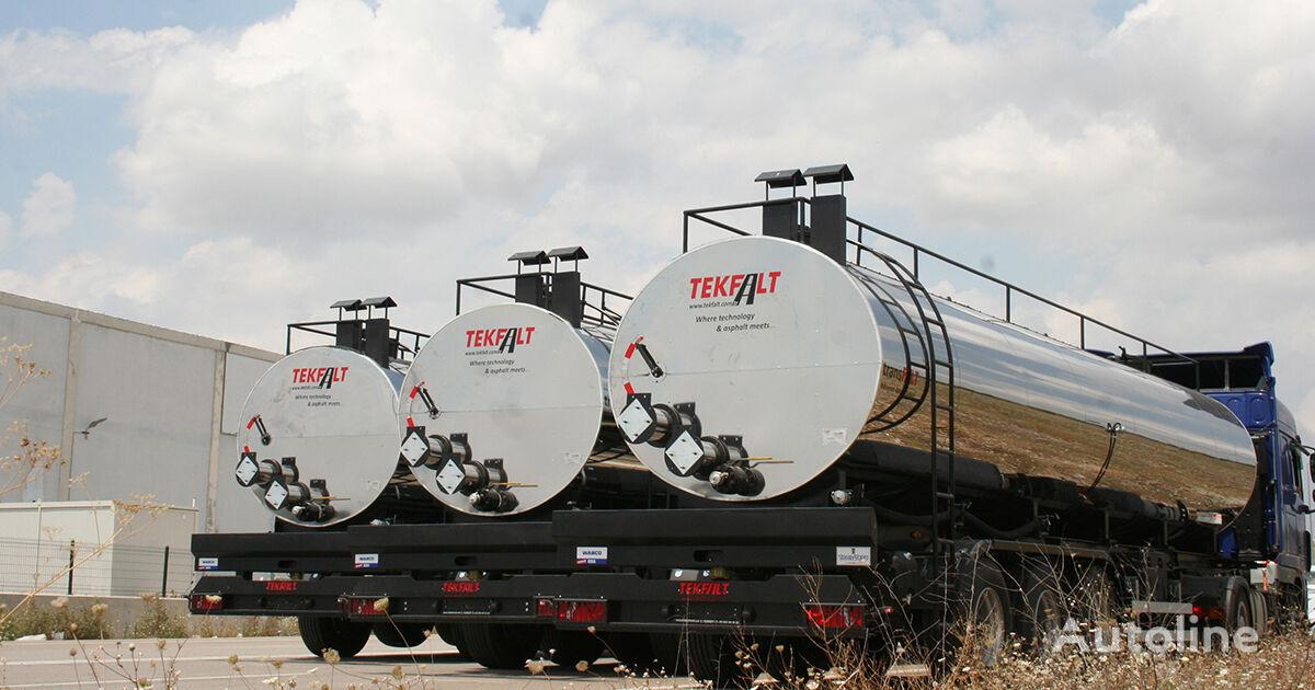 novi VOLVO MARINI / TEKFALT kamion za prijevoz bitumena