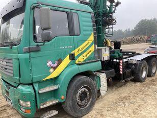 MAN Tga 26.480  6x4 Loglift 215Z kamion za prijevoz drva