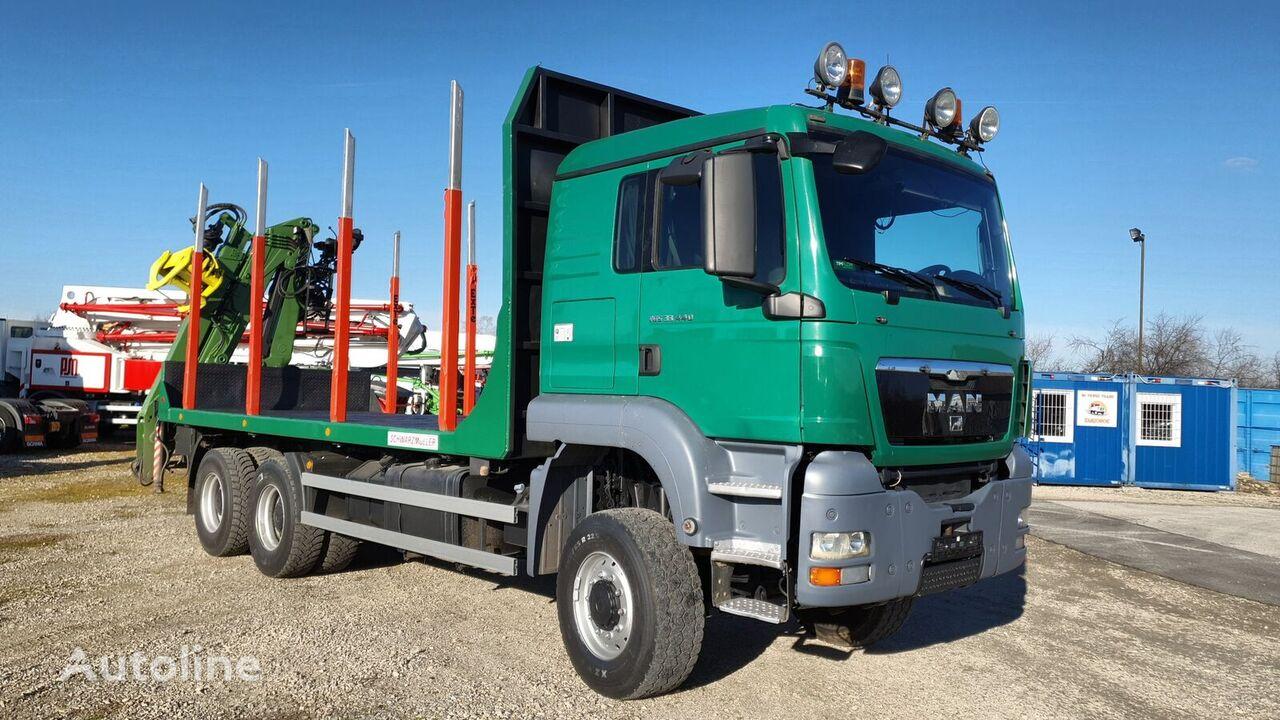 MAN TGS 33.440, 6X6, Loglift 145Z kamion za prijevoz drva
