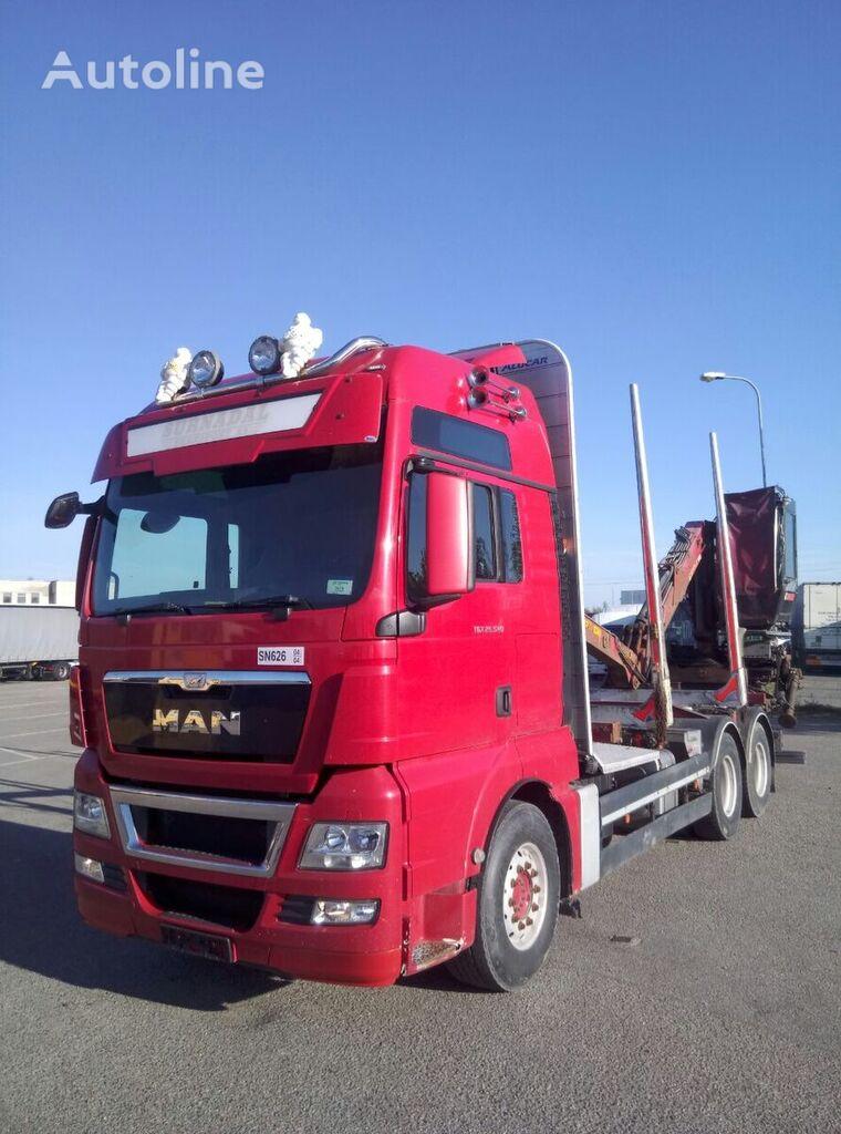 MAN TGX 26.540 kamion za prijevoz drva