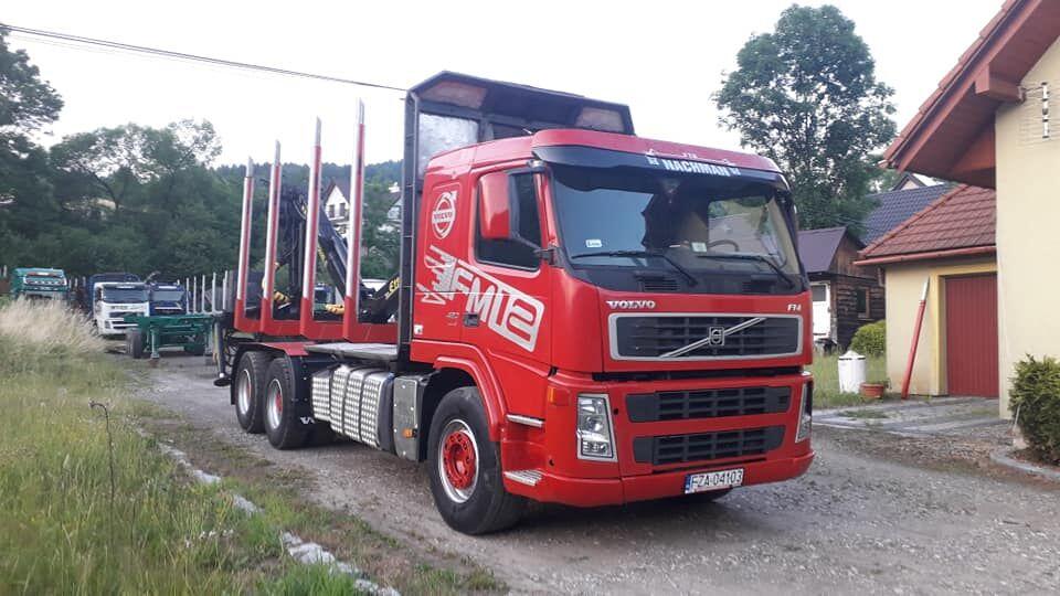 VOLVO FM12 480 PS  kamion za prijevoz drva