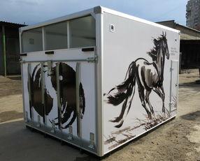novi ИСТОК kamion za prijevoz konja
