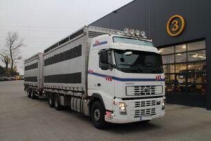 VOLVO FH12.480 CHICKEN TRANSPORTER kamion za prijevoz stoke + prikolica za prijevoz stoke