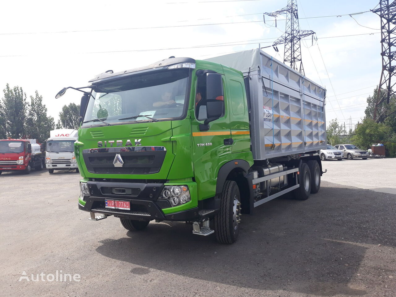 novi HOWO T7H kamion za prijevoz zrna