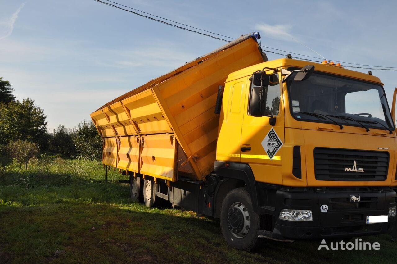 MAZ 6501A8 kamion za prijevoz zrna