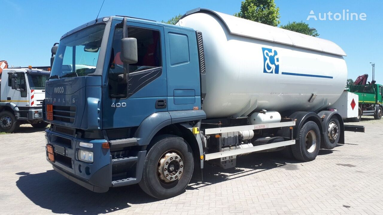 IVECO AT260S40 25m3 52000km kamion za transport gasa