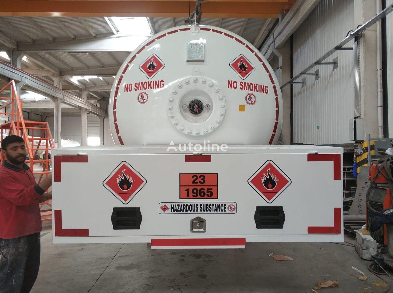 novi MERCEDES-BENZ DOĞUMAK BOBTAIL ROAD TANK kamion za transport gasa