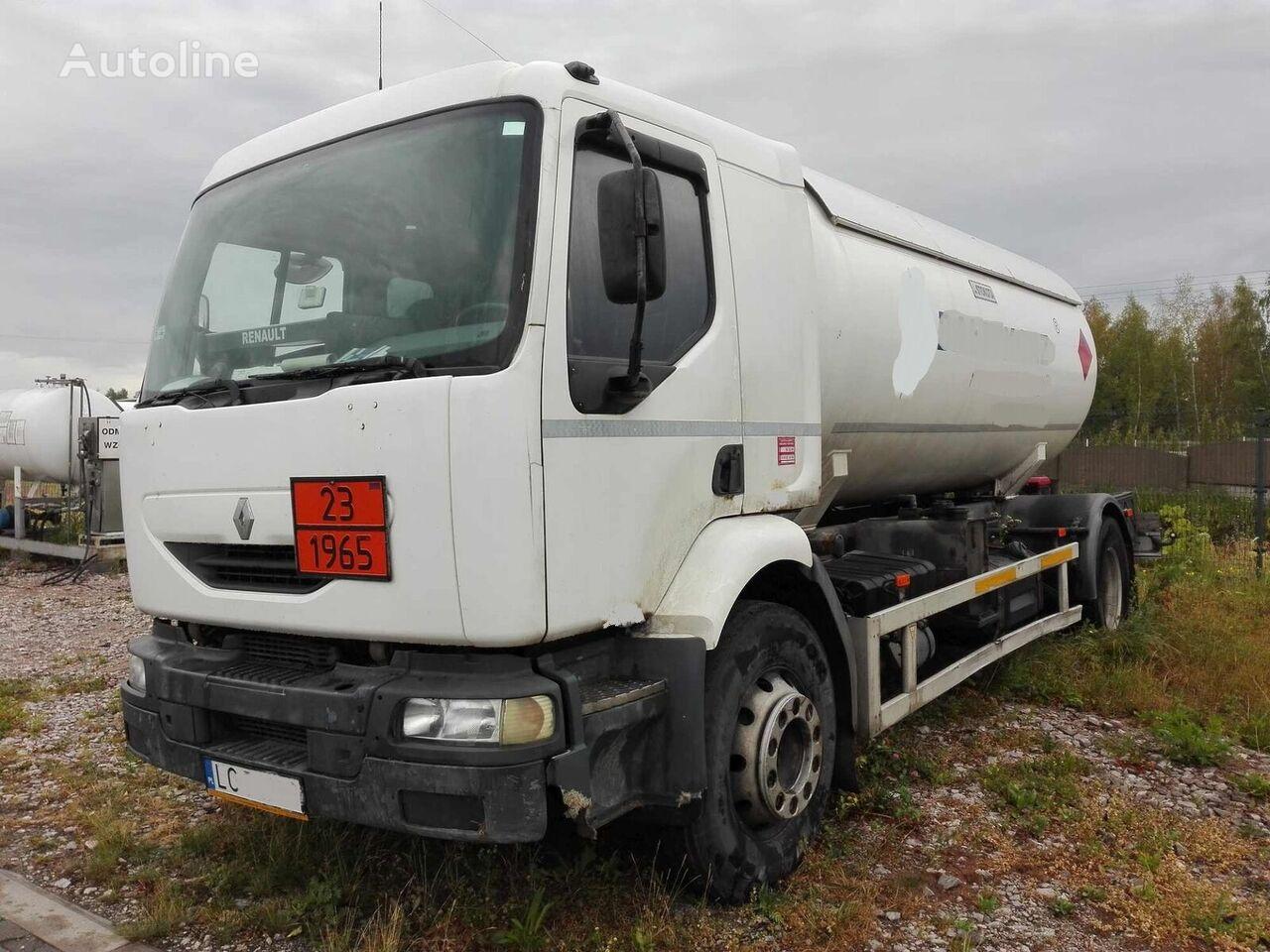 RENAULT Midlum 220 dci kamion za transport gasa