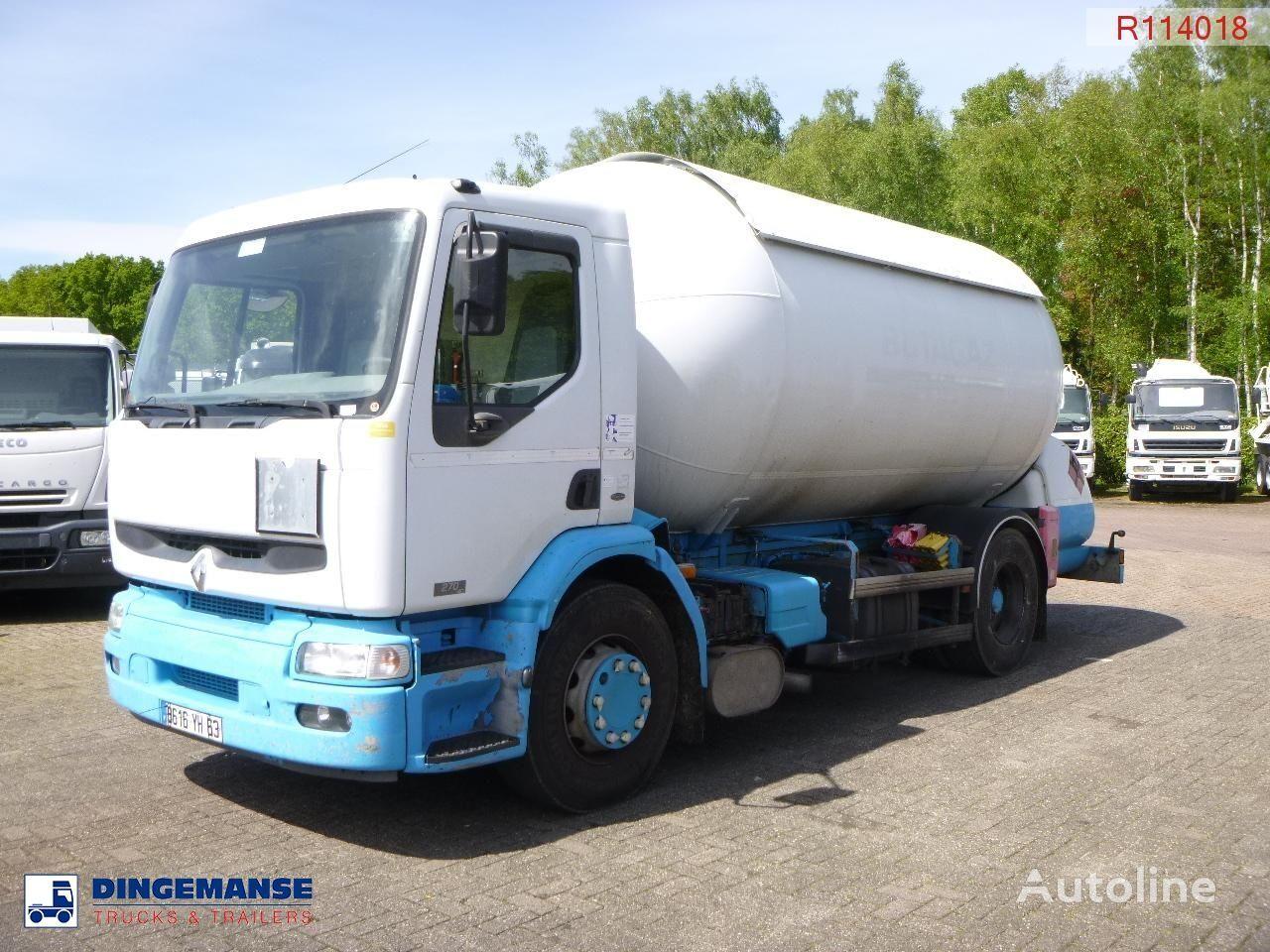 RENAULT Premium 270 4x2 gas tank 19.7 m3 kamion za transport gasa