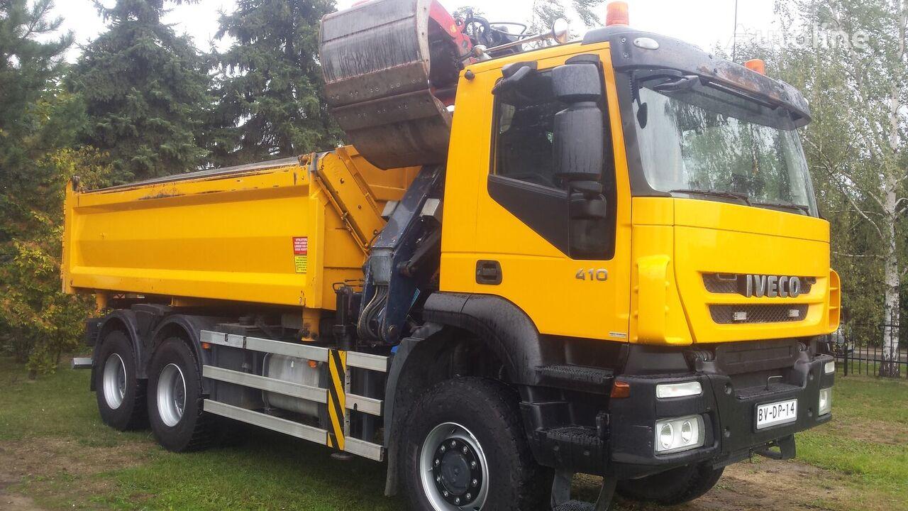 IVECO Trakker 410  Euro5 Kipp.6X6 kiper