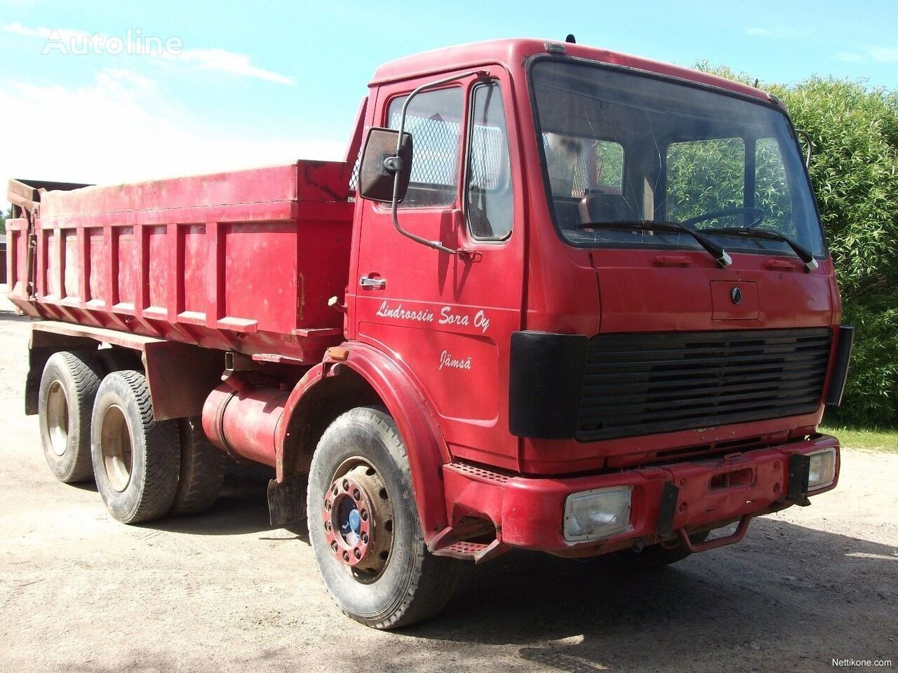 MERCEDES-BENZ 2224 6x4 full steel Tipper kiper
