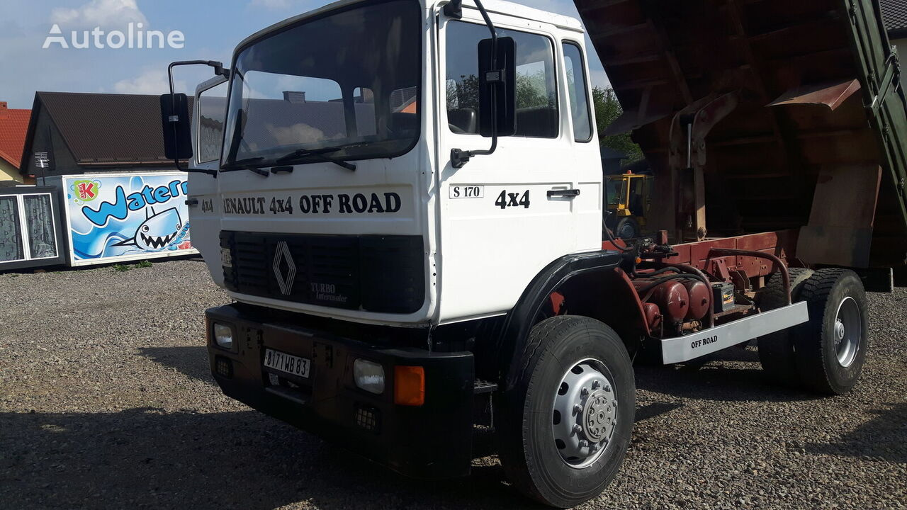 RENAULT Midliner S170 (4x4 / 3-side tipper / PERFECT / FRENCH TRUCK) kiper