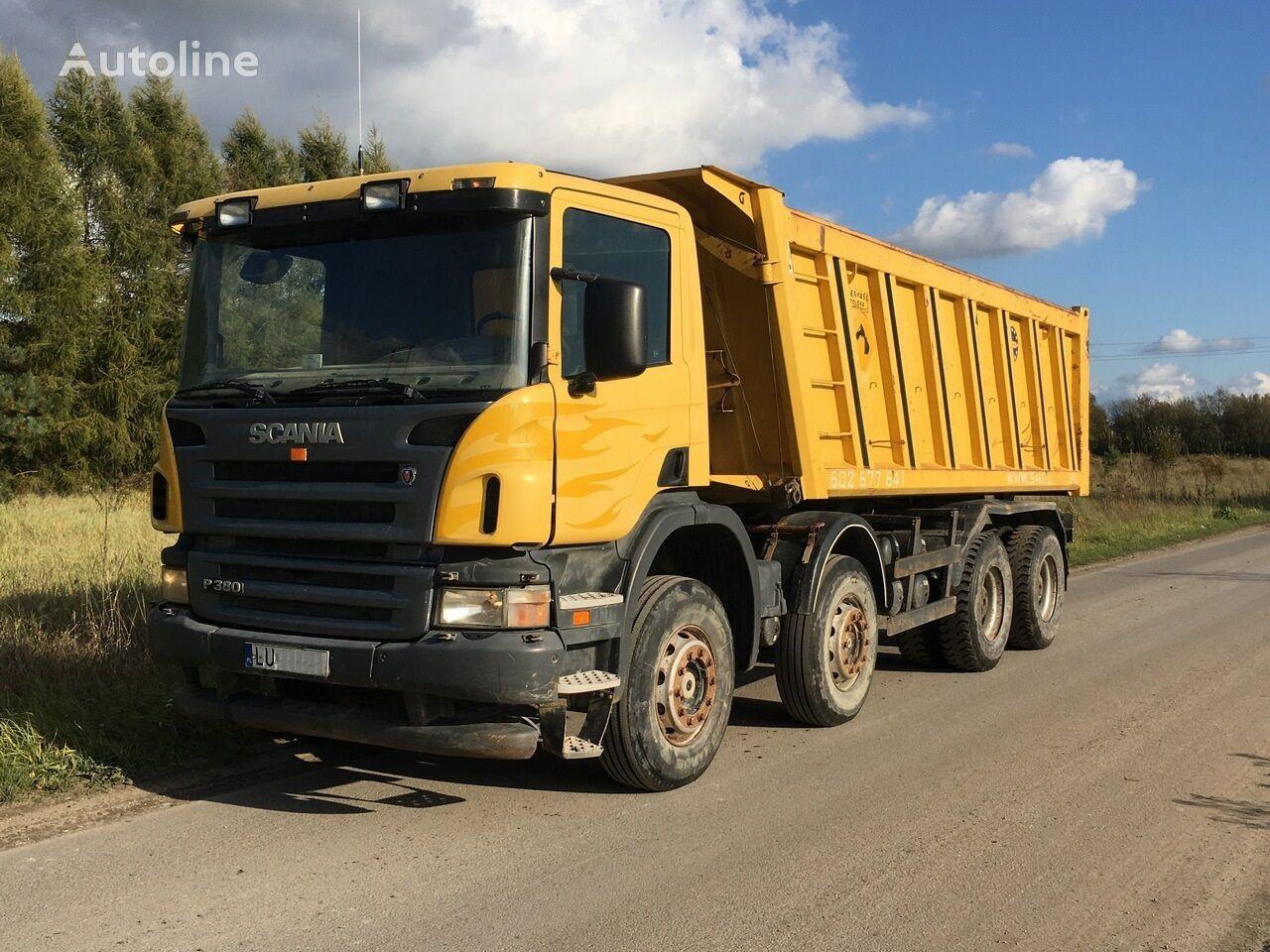 SCANIA P 380 8x4 kiper