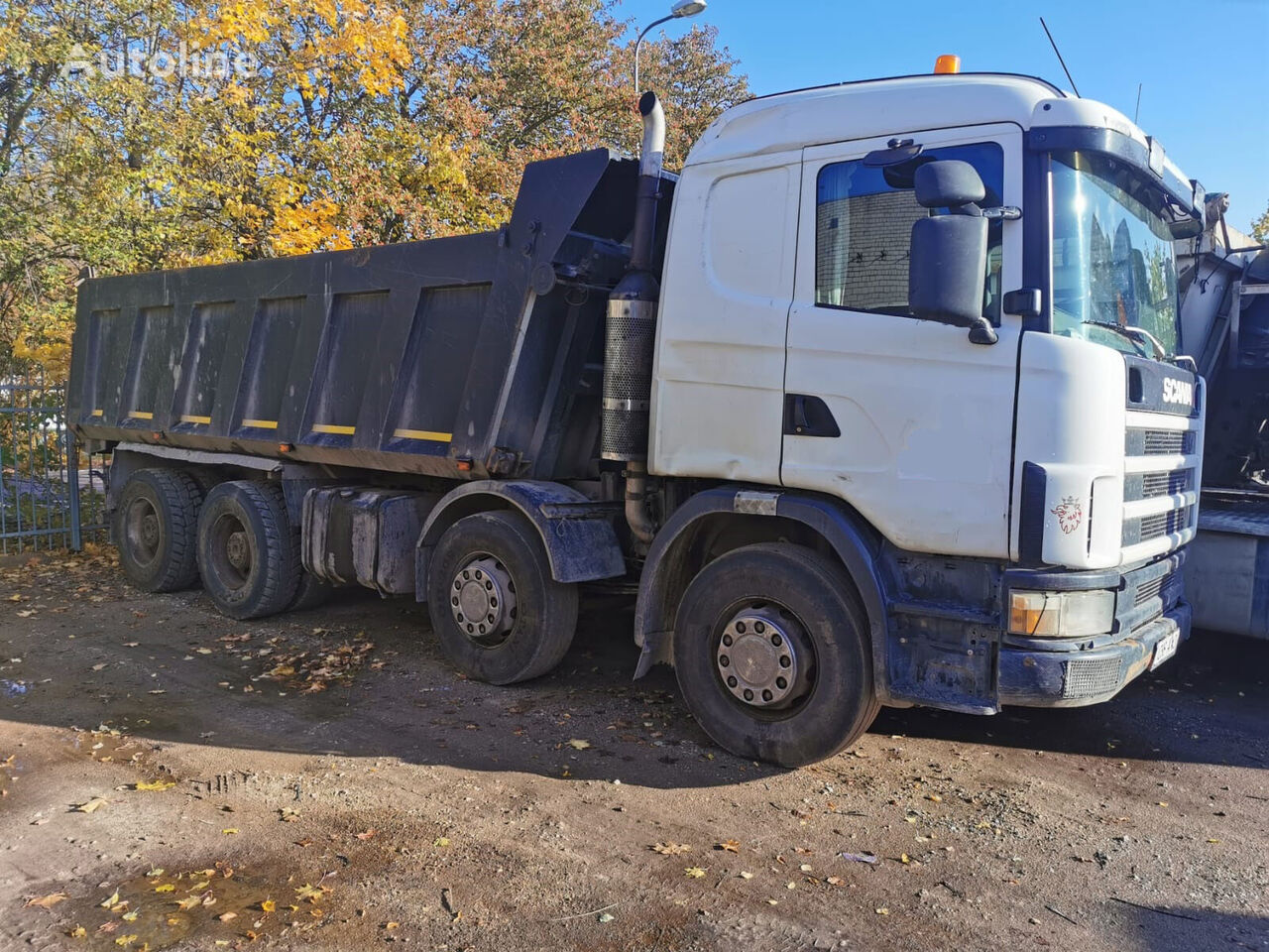 SCANIA R144 CB8X4NZ 530 kiper