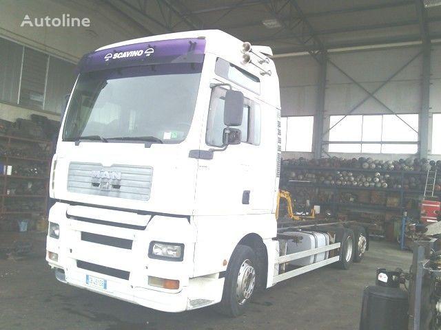 MAN TGA 26.410 XXL vozilo za prijevoz kontejnera