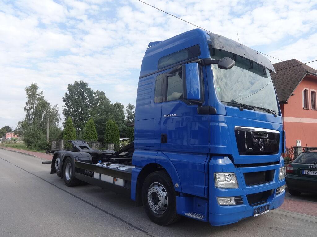MAN TGX 24.440 vozilo za prijevoz kontejnera