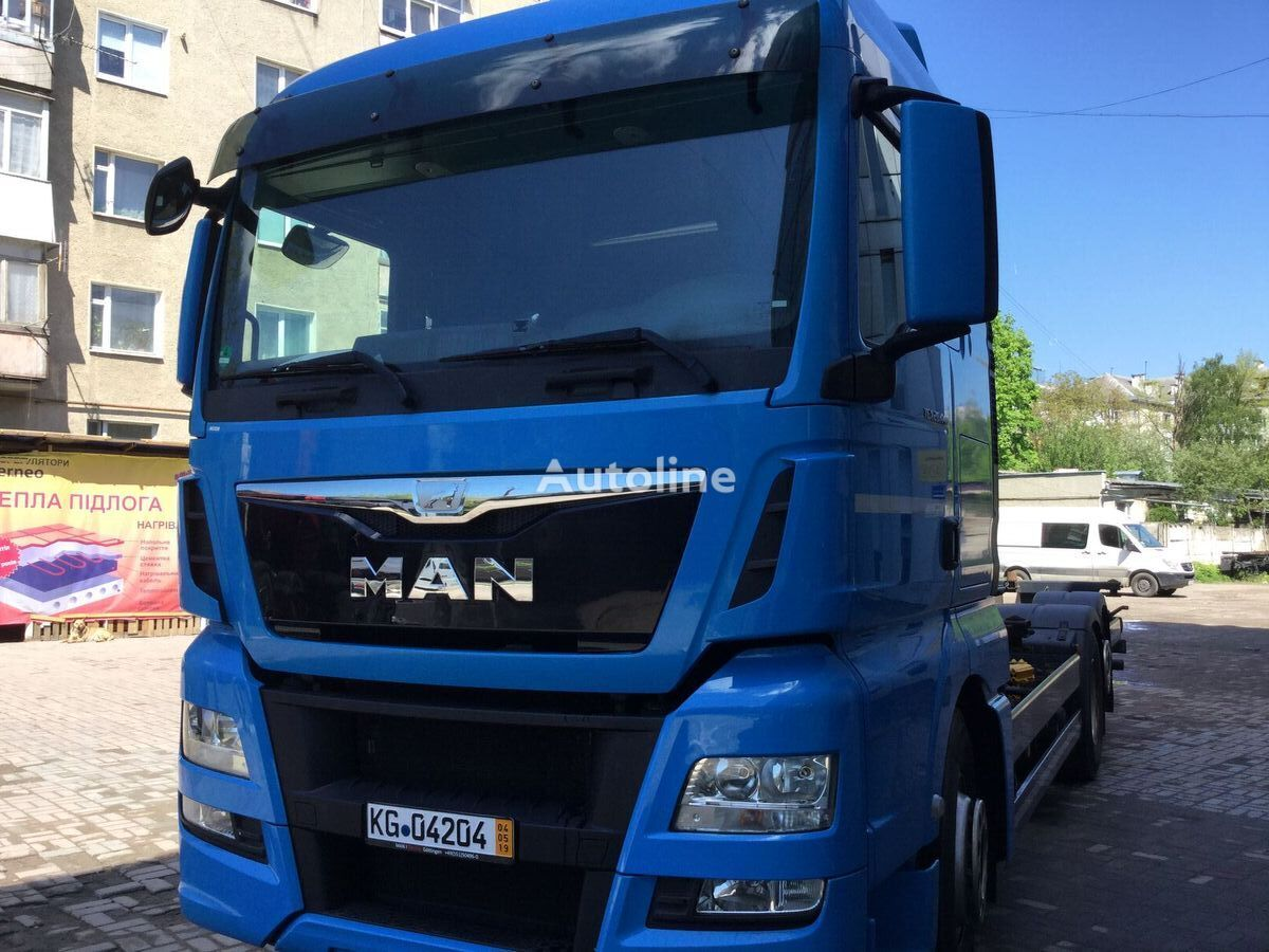 MAN TGX 26.440 vozilo za prijevoz kontejnera