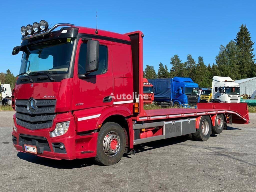 MERCEDES-BENZ Actros 2551 vozilo za prijevoz kontejnera