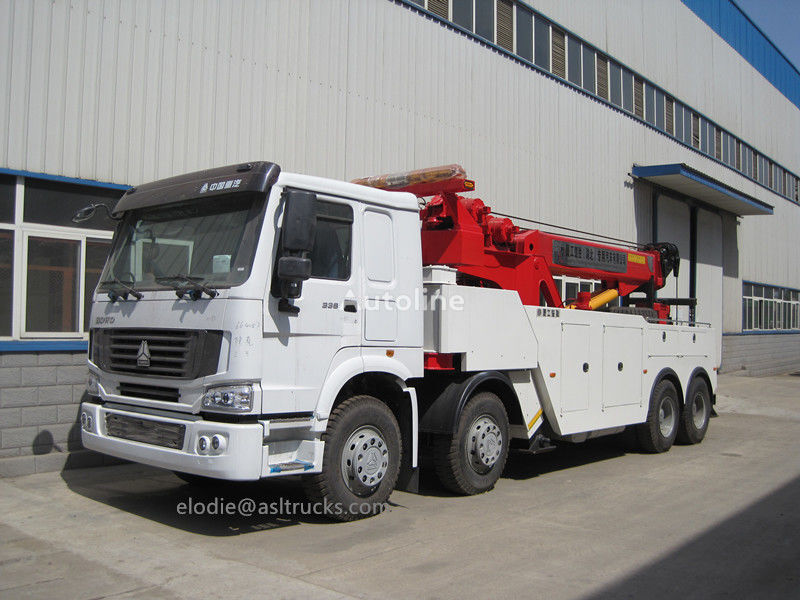 novi HOWO 12wheelers heavy duty tow trucks/wrecker trucks vučna služba