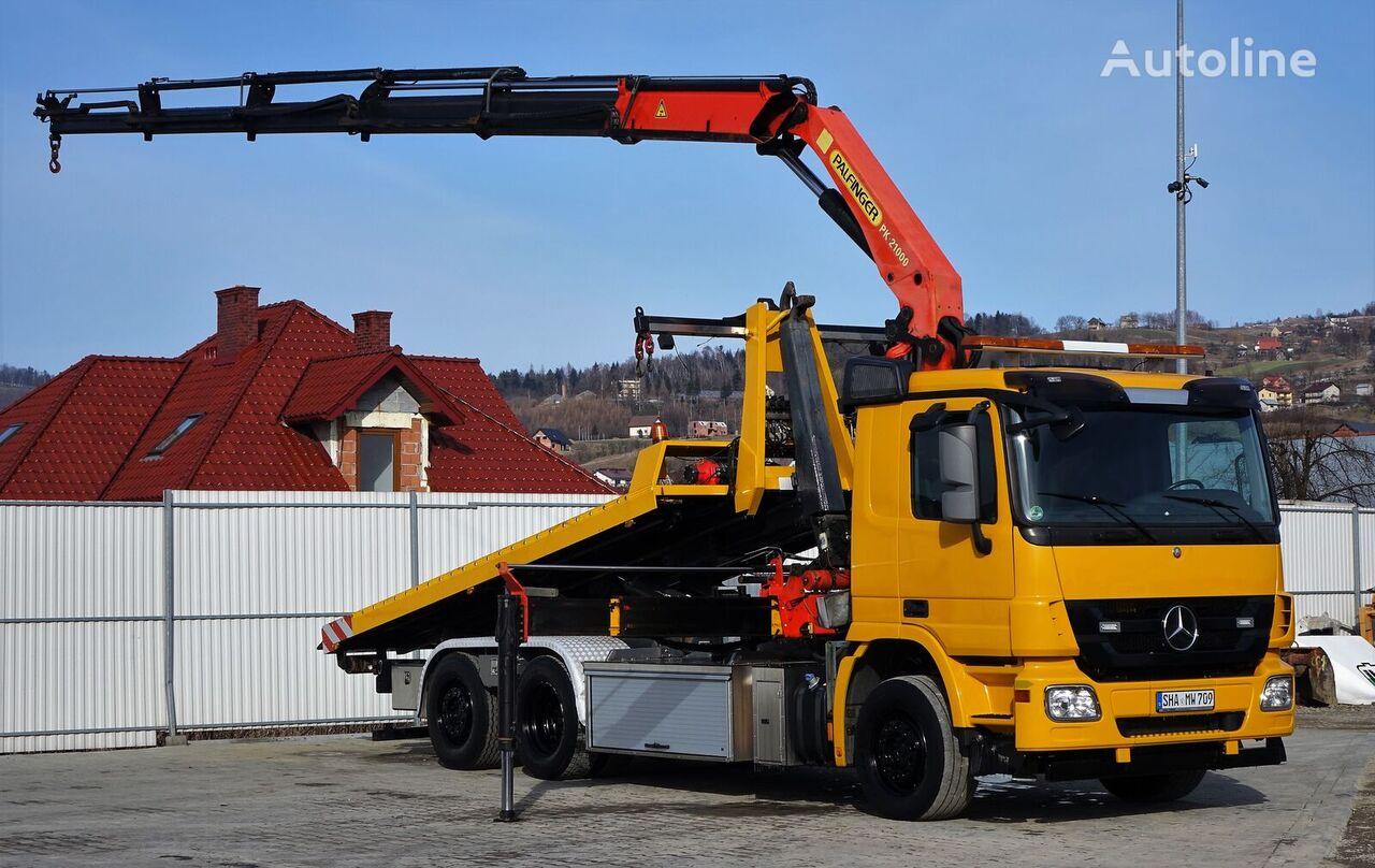 MERCEDES-BENZ  Actros 2544 Abschleppwagen 5,30m + Kran PK21000! vučna služba
